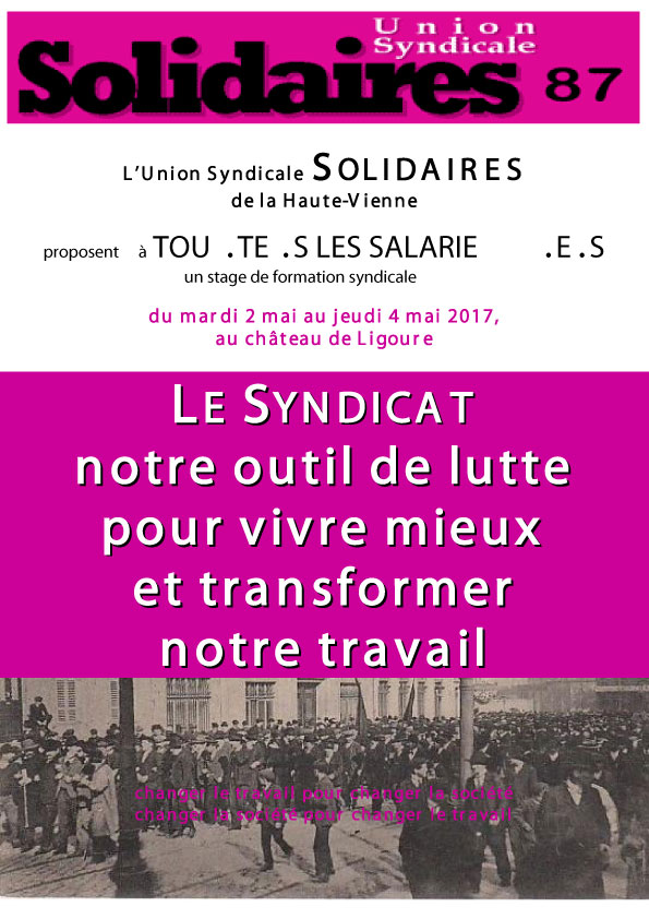 Formation Solidaires 87-1